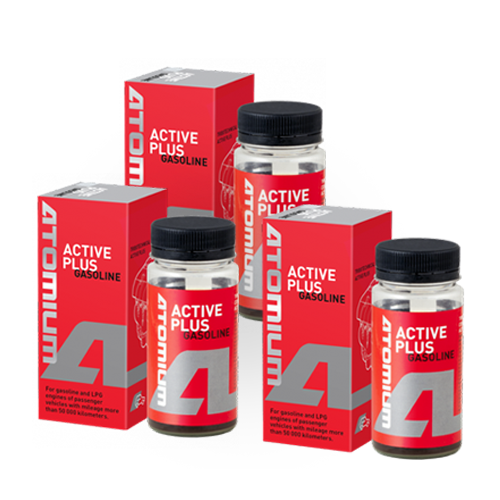 ACTIVE GASOLINE PLUS x 3