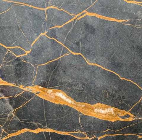 Grey and Ochre Marble
