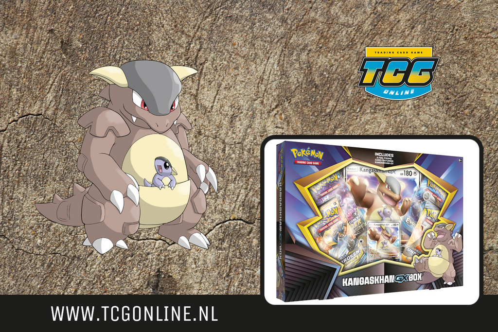 Kangaskhan GX Box Pre-Order Weekend!