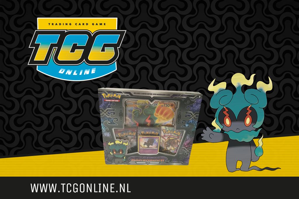 TCG Online 1 jaar: Win een Marshadow Box!