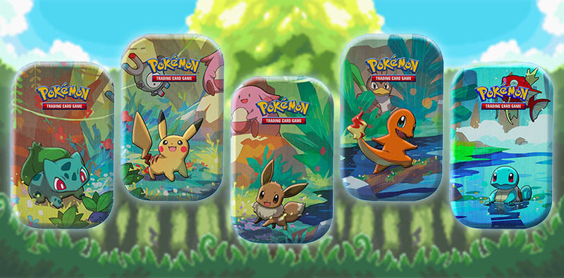 Nog 2 weken tot de Kanto Friends Mini Tins!