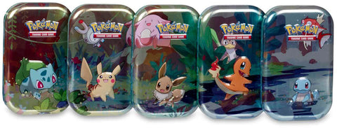TCG Online Kanto Friends Mini Tin