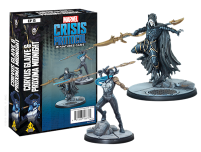 Marvel Crisis Protocol Corvus Glaice and Proxima Midnight - TCG Online