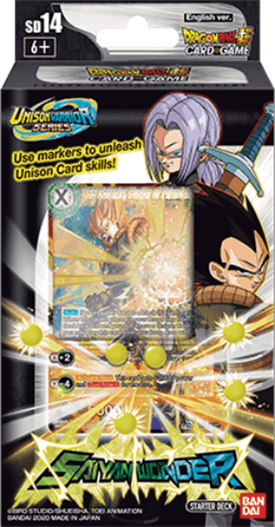 Dragon Ball SCG S10 Black Starter Deck - TCG Online.