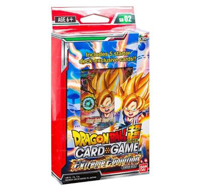 Dragon Ball SCG S2 Extreme Evolution Starter Deck - TCG Online