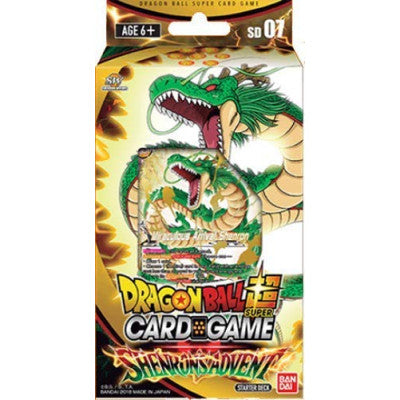 Dragon Ball SCG S5 Black Starter Deck - TCG Online