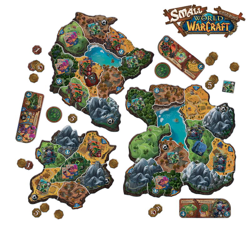 Small World of Warcraft - TCG Online