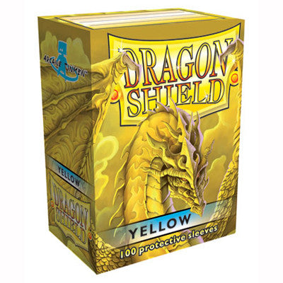 Dragon Shield - Standard - Yellow (100 stuks) - TCG Online