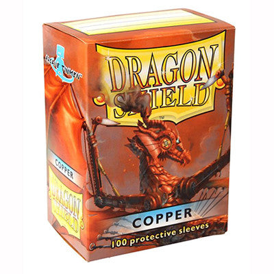 Dragon Shield - Standard - Copper (100 stuks) - TCG Online