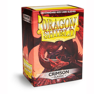 Dragon Shield - Standard - Crimson (100 stuks) - TCG Online