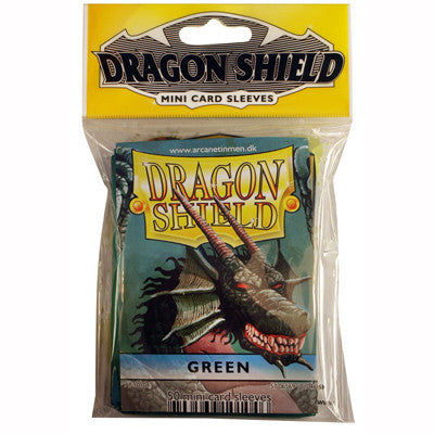 Dragon Shield Mini - Small - Green - TCG Online