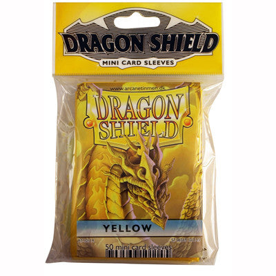 Dragon Shield Mini - Small - Yellow (50 stuks) - TCG Online