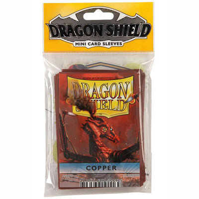 Dragon Shield Mini - Small - Copper (50 stuks) - TCG Online