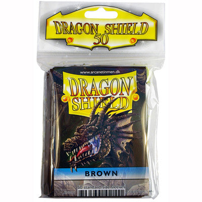Dragon Shield - Standard - Brown (50 stuks) - TCG Online