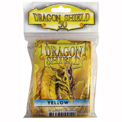 Dragon Shield - Standard - Yellow (50 stuks) - TCG Online