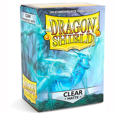 Dragon Shield MATTE - Standard - Clear (100 stuks) - TCG Online