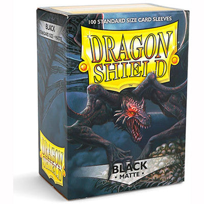 Dragon Shield MATTE - Standard - Black (100 stuks) - TCG Online