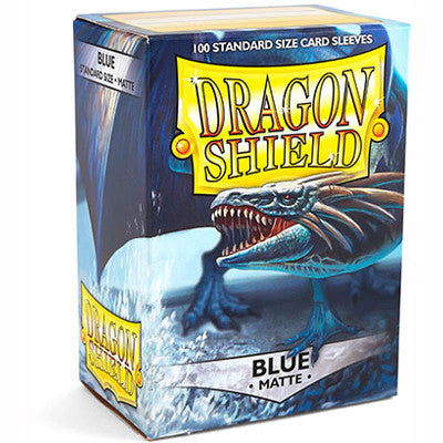 Dragon Shield MATTE - Standard - Blue (100 stuks) - TCG Online