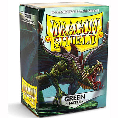 Dragon Shield MATTE - Standard - Green (100 stuks) - TCG Online