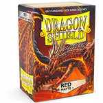 Dragon Shield MATTE - Standard - Red (100 stuks) - TCG Online
