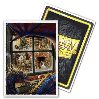 Dragon Shield Sleeves - Dragon Christmas (100 stuks) - TCG Online