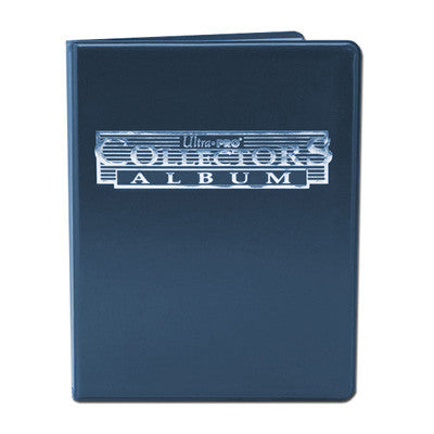 4-Pocket Portfolio Collectors Blauw