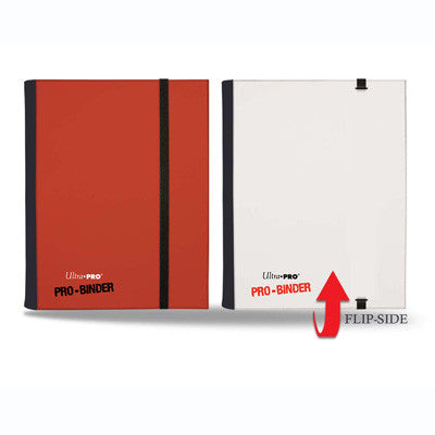 PRO-BINDER 4-Pocket FLIP Red / White - TCG Online