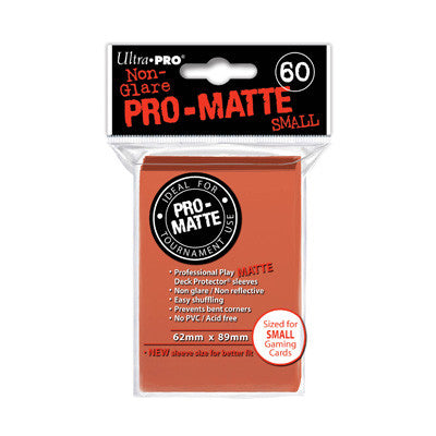 SLEEVES Pro-Matte Peach Small  (60 stuks) - TCG Online