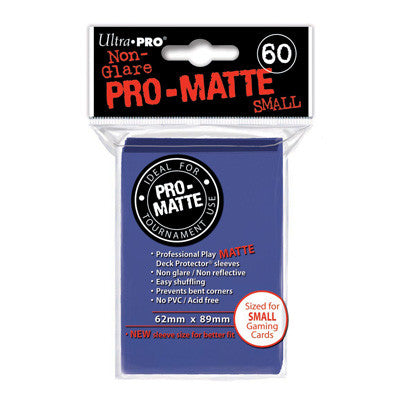 SLEEVES Pro-Matte Blue Small (60 stuks)