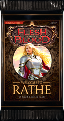 Flesh and Blood Welcome to Rathe Booster Pack - TCG Online.