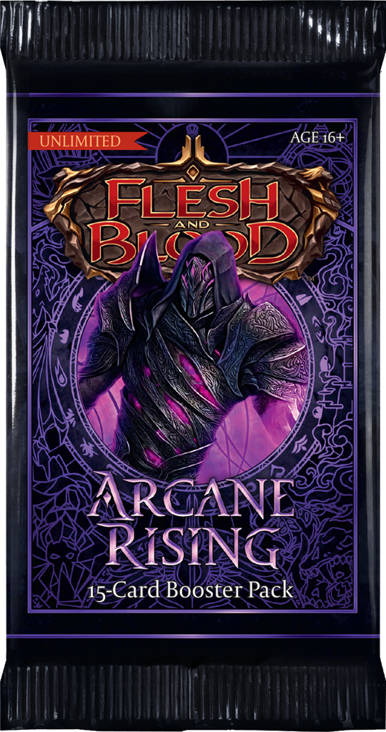 Flesh and Blood Arcane Rising Booster Pack - TCG Online.