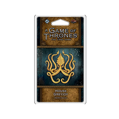 Game of Thrones LCG 2nd House Greyjoy Intro Deck - TCG Online