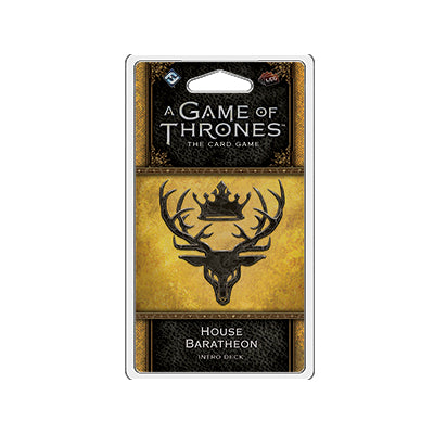 Game of Thrones LCG 2nd House Baratheon Intro Deck - TCG Online