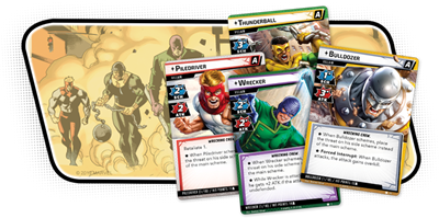 Marvel LCG The Wrecking Crew Scenario - TCG Online