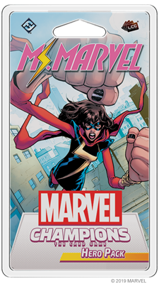 Marvel LCG Ms Marvel Hero - TCG Online
