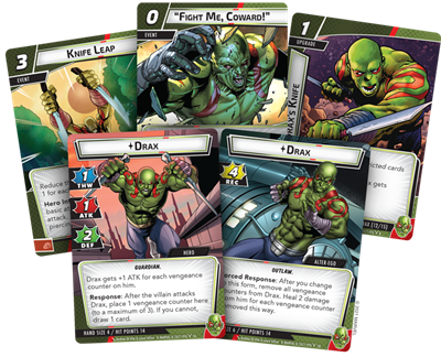 Marvel LCG Drax Hero Pack