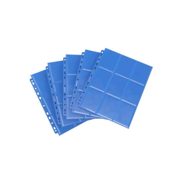 GameGenic Sideloading 18-Pocket Pages Pack Blue (10) - TCG Online