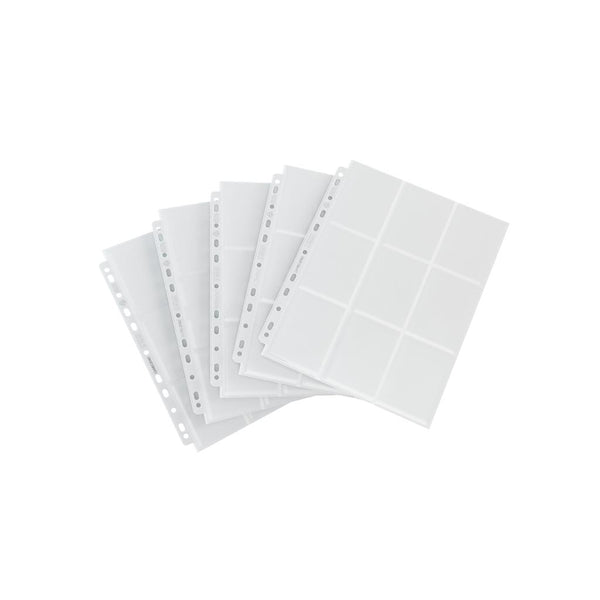 GameGenic Sideloading 18-Pocket Pages Pack White (10) - TCG Online