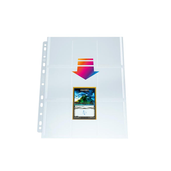 GameGenic Ultrasonic 9-Pocket Pages Toploading Display (50) - TCG Online