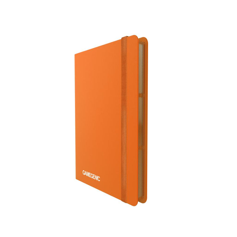GameGenic PORTFOLIO Casual Album 18-Pocket Orange - TCG Online