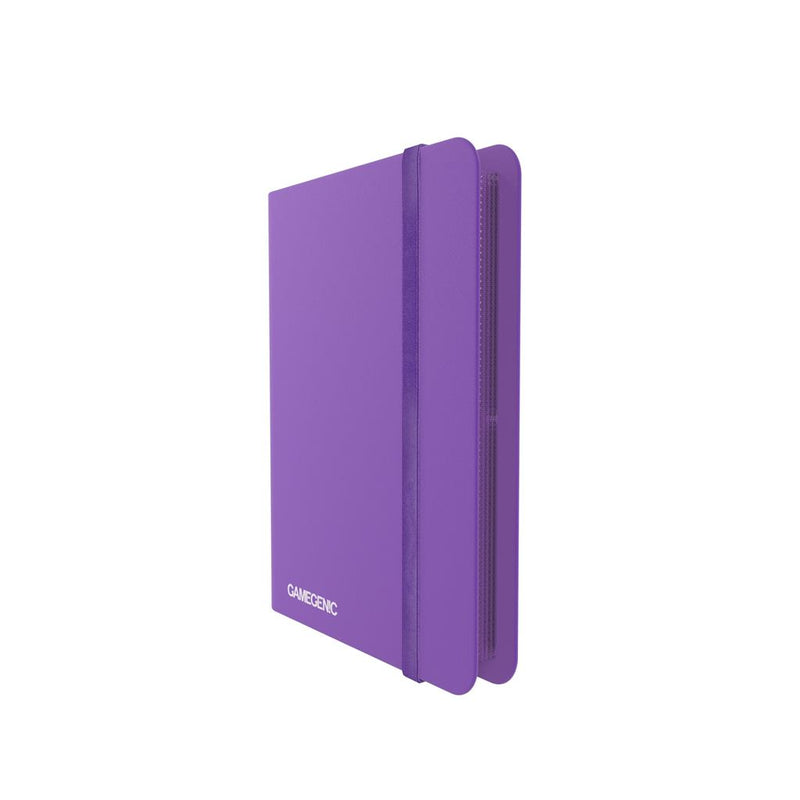 GameGenic PORTFOLIO Casual Album 8-Pocket Purple - TCG Online