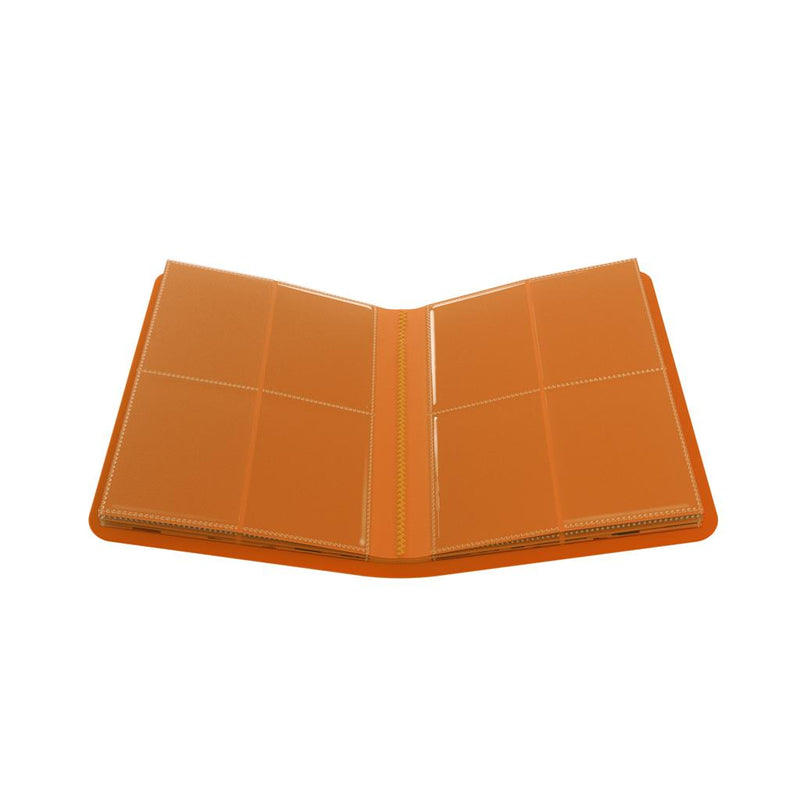 GameGenic PORTFOLIO Casual Album 8-Pocket Orange - TCG Online