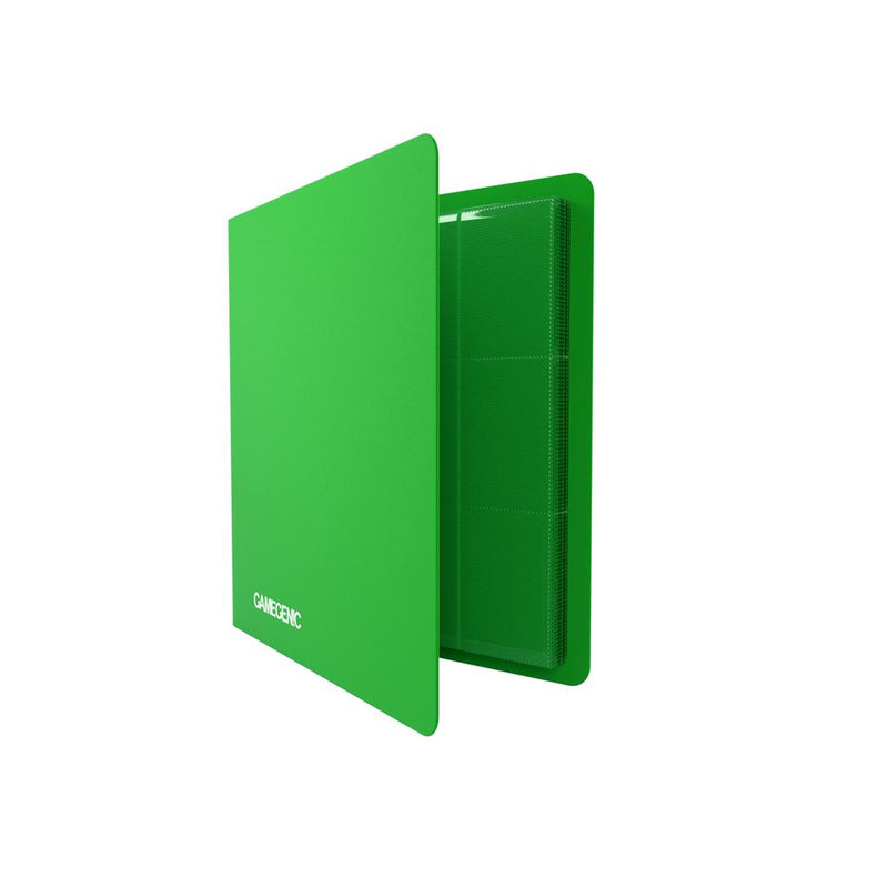 GameGenic PORTFOLIO Casual Album 24-Pocket Green - TCG Online