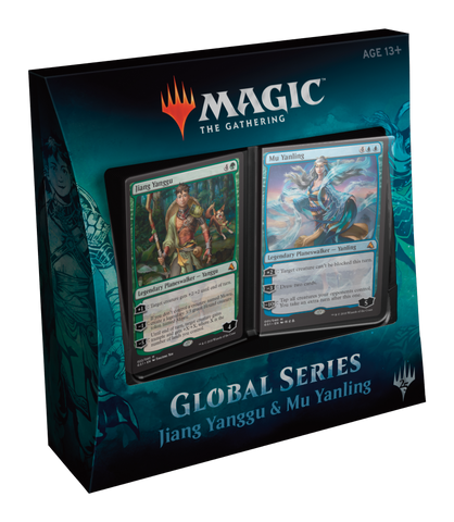 Global Series Jiang Yanggu vs Mu Yanling - TCG Online