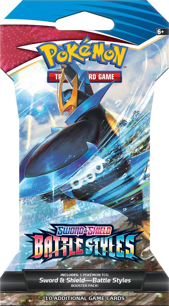 Sword & Shield Battle Styles Sleeved Booster Pack - TCG Online.