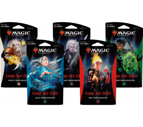 Core 2020 Theme Booster Pack - TCG Online