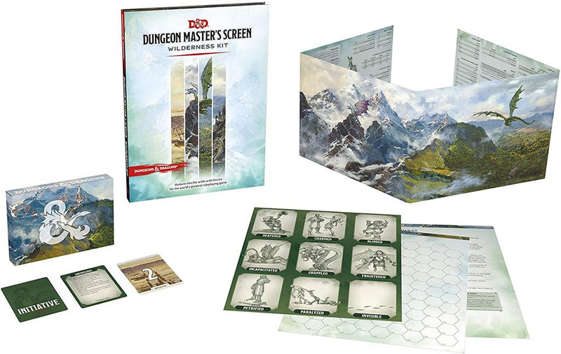 D&D 5.0 - Dungeon Master's Screen Wilderness Kit - TCG Online.