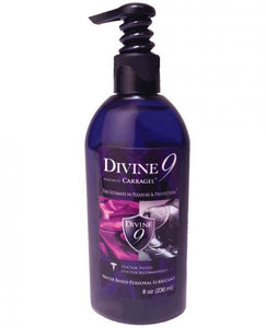 Divine 9 Water-Based Lubrication with Carragel and HPV Inhibitor