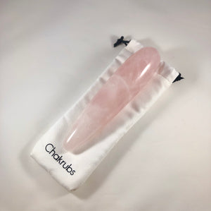Chakrubs The Heart - Original Rose Quartz Crystal Wand