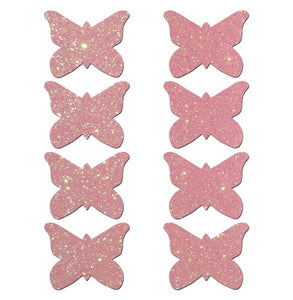 Mini Glitter Butterflies (8 Pack)